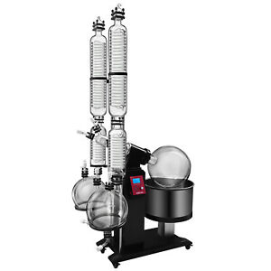 Toolots 50l Rotary Evaporator With Dual Condensers