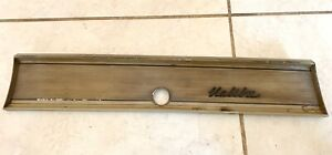 1966 1967 Chevelle Malibu Dash Trim Bezel 3895169 With Malibu Emblem Gm