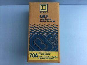 Square D 70a 120 240v 1p Outdoor Circuit Breaker Load Center Box Qo24l70rb new