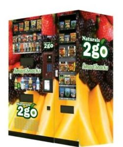 Seaga N2g4000 Healthy Combo Snack Vending Machine W Entree And Smart Tablet