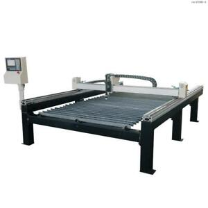 Toolots 5ft 10ft Cnc Plasma Table Plasma Cutting Machine