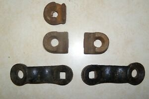 1930 s 1940 s Vintage Fog Light Trippe Lamp Mounting Hardware Bracket Clamp Pts