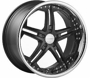 Vossen Vvs 75 Gloss Black Wheels 5x112 20x10 5 Et 36 set Of 4 Wheels