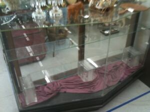 1920 S 1930 S Era Vintage Glass Store Display Case Pick Up Central Florida Only