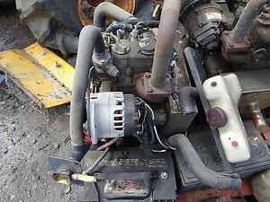 Kubota Z482 Diesel Engine Nice Runs Exc 5 Available Z 482 Zero Turn Mower