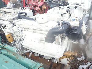 Caterpillar C7 Marine Turbo Diesel Engine Rare Runs Exc Cat