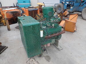 Caterpillar 3208t Industrial Power Unit Turbo Diesel Engine 3208 Low Hours Cat