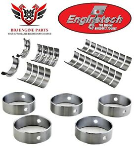 Enginetech Chevy Geniv 4 8 5 3 6 0 6 2 08 11 Ly6 Ls3 Rod Main And Cam Bearings
