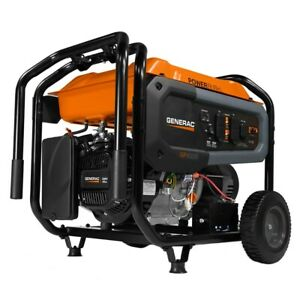 Generac Gp8000e 8000 Watt Electric Start Portable Generator 49 state