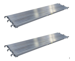 7 x19 25 Aluminum Walkboard Set Of 2