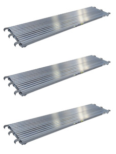 7 x19 25 Aluminum Walkboard Set Of 3