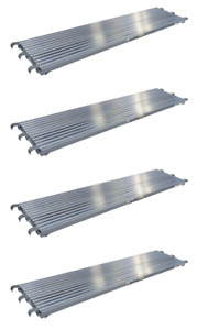 7 x19 25 Aluminum Walkboard Set Of 4