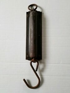Vintage Hook Scale Chatillons Improved Spring Balance New York