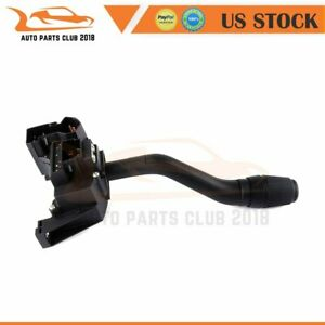 Turn Signal Switch Windshield Wiper Lever Blinker For 1992 97 Ford F Super Duty