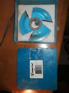 Amana Tool Raised Panel Shaper Cutter 985 3 wing Carbide Cutter