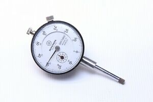 Mitutoyo 2416 10 Jeweled 1 Continuous Reading Dial Indicator 2 25 Dial Size