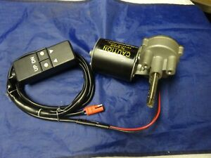 Geared Motor With Remote 250 Lbs 12 Volt 24 Volt Dc
