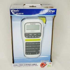 Brother P touch Pt h110 White Handheld Label Maker