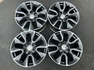 Four 2019 Chevy Silverado Ltz Factory 20 Wheels Oem Rims 23377015 Tahoe Suburban