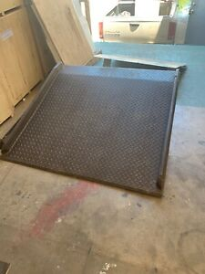Loading Dock Ramp 60 X 60 Solid Steel
