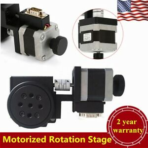 High Precision Motorized Rotation Stages 360 Continuous Rotation 50 sec Max