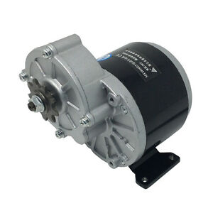 36volt 350watt My1016z3 Gear Reduction Electric Motor With 9 Tooth Sprocket