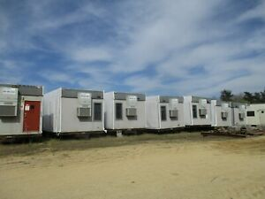 96x60 8 Plex Modular Office Trailer Building Wrapped Ready For Haul