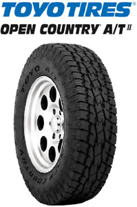 New 33x12 50r18 Toyo Open Country A T Ii 12ply All Terrain 33125018 33 12 50 18