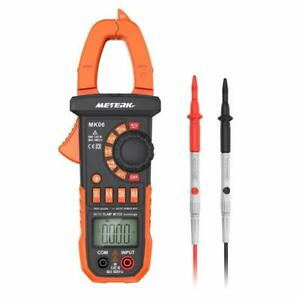 Meterk Mk06 Digital Clamp Meter 4000 Counts Auto ranging Multimeter With Ac dc