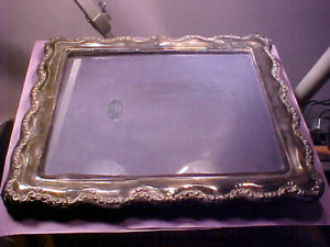 Hallmarked Sterling Silver Tki Hand Made In England Picture Frame