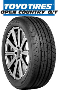 1 New 255 55r20 Toyo Open Country Q T All Season Touring Tire 2555520 255 55 20