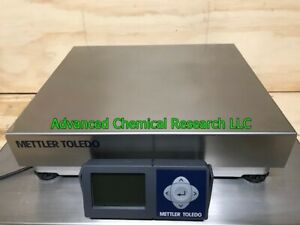 Mettler Toledo Bc60 Usb Shipping Scale 150lb X 0 05 Capacity Stainless Steel Top