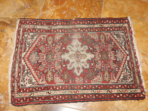 Antique Oriental Smaller Hamadan Rug Estate Carpet