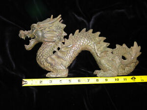 Chinese Dragon Statue Just Over 1 Long
