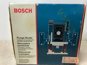 Bosch 1613evs Corded Heavy Duty Plunge Router W box