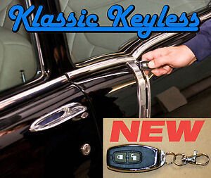 1955 57 Gm Full Size Car 2 Dr Power Door Locks Keyless Entry Kit New Remotes