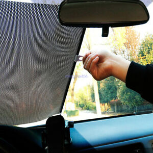 Auto Car Retractable Windshield Sun Shade Visor Folding Block Cover Front Window
