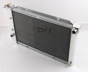 3 Row Aluminum Radiator Fit 1969 73 72 Ford Mustang Torino Lincoln Cougar 26 W