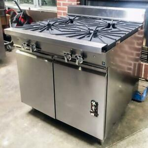 2014 Montague 36 5a 36 Heavy Duty Gas Range With 4 18 Burners