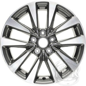 New Set Of 4 17 Replacement Alloy Wheels Rims For 2013 2018 Nissan Altima
