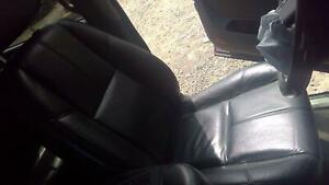 2009 Chevy Suburban Driver Lh Black Leather Electric Bucket Seat A95