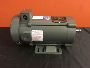 Baldor Cd3450 0 5 Hp 1750 Rpm Tefc Enclosure Dc Electric Motor New