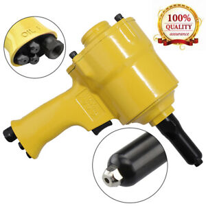New Air Riveter Pneumatic Pistol Type Pop Rivet Gun Air Power Operated Riveter