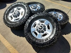 17 Gmc Sierra Chevy Silverado 2500 Oem Wheels Rims Tires Oe 5500 2016 2017 2018