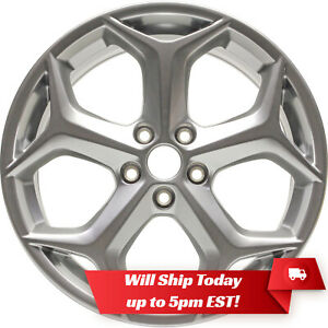 New Set Of 4 18 Hyper Silver Alloy Wheels Rims For 2013 2018 Ford Focus St