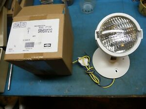 New Hubbell Dual lite Srhsw1212 Emergency Light 12v 12w Remote Single Lite Head