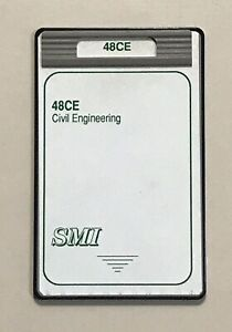 Smi Civil Engineering Card For Hp 48gx Calculator