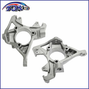 Brand New Steering Knuckle Front Steering Spindle Left Right Pair Kit For Jeep
