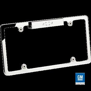 Billet 55320 License Plate Frame Bowtie Lighted Polished Chevy Truck Car