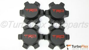 Toyota Trd Trail Teams Center Cap Set Of 4 Fj Cruiser 2007 2014 Ptr20 35081